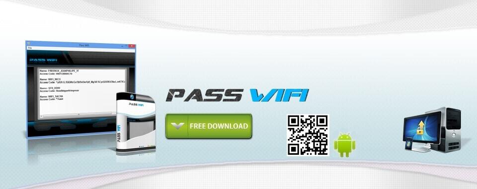 Trouver tous les codes d'acc�s Wifi
