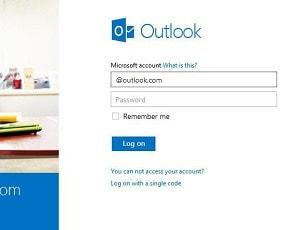 Hack an Outlook password