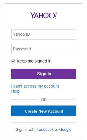 Hack a Yahoo password